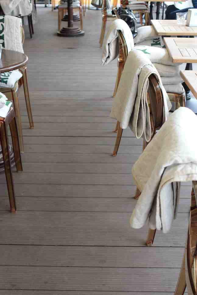 Терраса для ресторана Курвуазье