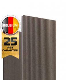 Террасная доска дпк полнотелая TWINSON MASSIVE 9360 (Бельгия) цвет 504 древесно-коричневый